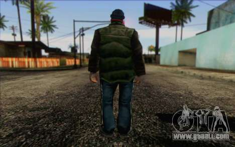 Vagabonds Skin 1 for GTA San Andreas second screenshot
