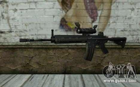 HK416 (Bump mapping) v1 for GTA San Andreas