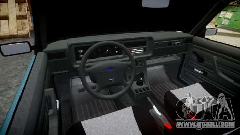 VAZ-2107 hobo for GTA 4 inner view