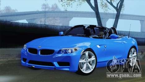 BMW Z4 sDrive28i 2012 Stock for GTA San Andreas