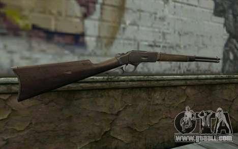 Winchester 1873 v4 for GTA San Andreas second screenshot