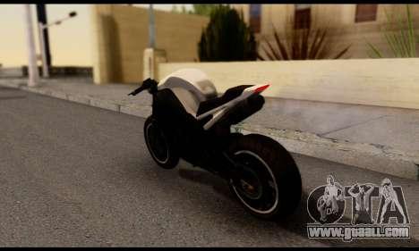 TBOGT Akuma for GTA San Andreas left view