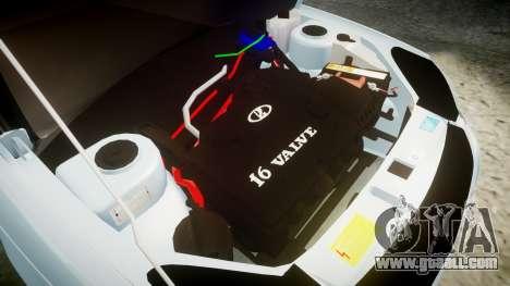 VAZ-2170 Priora drives for GTA 4 inner view