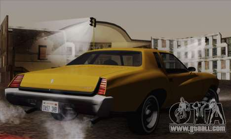 Chevrolet Monte Carlo 1973 for GTA San Andreas left view