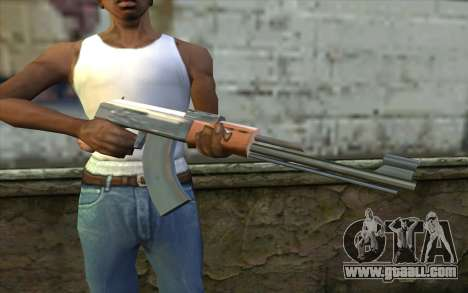 AK47 from Beta Version for GTA San Andreas third screenshot