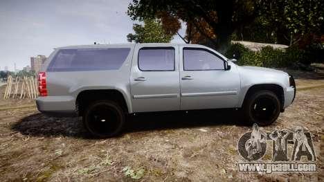 Chevrolet Suburban [ELS] Rims2 for GTA 4 left view