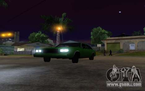 Tahoma Restyle for GTA San Andreas right view