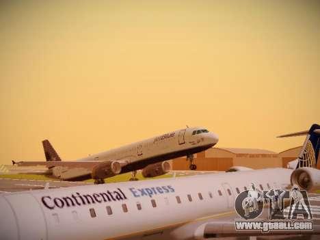 Airbus A321-232 jetBlue Woo-Hoo jetBlue for GTA San Andreas left view