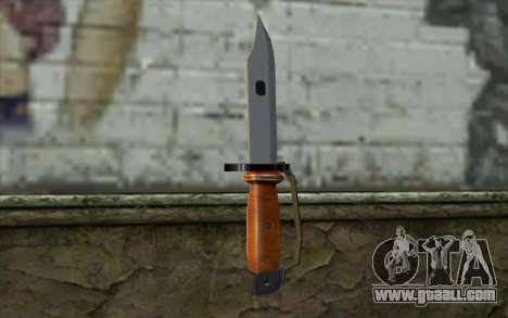 Knife from Half - Life Paranoia for GTA San Andreas second screenshot