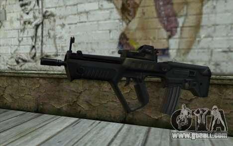 TAR-21 Bump Mapping v4 for GTA San Andreas