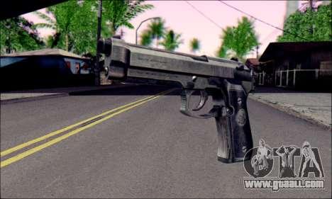 Beretta M92F for GTA San Andreas