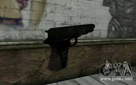Pistol from Cutscene for GTA San Andreas second screenshot