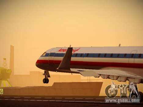 Bombardier CRJ-700 American Eagle for GTA San Andreas