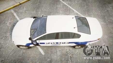 GTA V Cheval Fugitive LS Liberty Police [ELS] Sl for GTA 4 right view