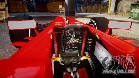 Ferrari F138 v2.0 [RIV] Alonso TMD for GTA 4 inner view