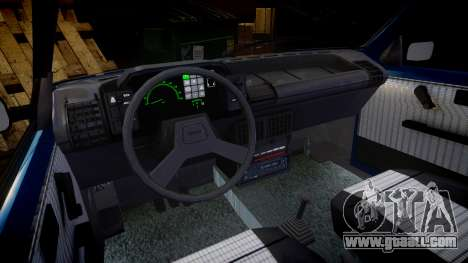 Fiat Uno for GTA 4 inner view