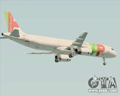 Airbus A321-200 TAP Portugal for GTA San Andreas right view