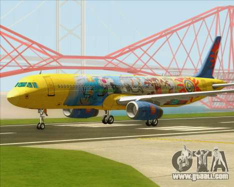 Airbus A321-200 for GTA San Andreas left view