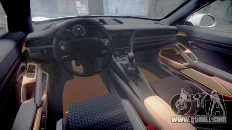 Ruf RGT-8 for GTA 4 inner view