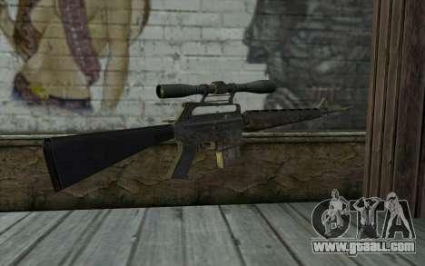 M16S from Battlefield: Vietnam for GTA San Andreas second screenshot
