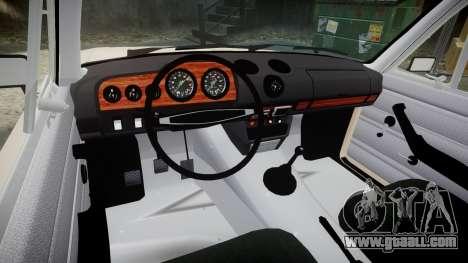 VAZ 2106 Lada for GTA 4 back view
