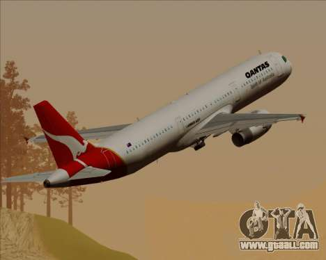 Airbus A321-200 Qantas for GTA San Andreas