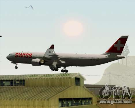 Airbus A330-300X Swiss International Air Lines for GTA San Andreas