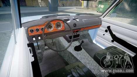 VAZ-2106 (Lada 2106) for GTA 4 inner view