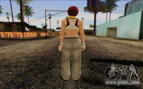 Mila 2Wave from Dead or Alive v18 for GTA San Andreas second screenshot