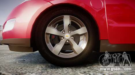 Chevrolet Volt 2011 v1.01 rims1 for GTA 4 back view