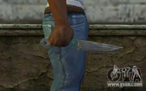 Knife from Metro 2033 for GTA San Andreas third screenshot