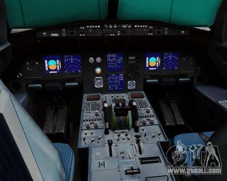 Airbus A321-200 British Midland International for GTA San Andreas interior