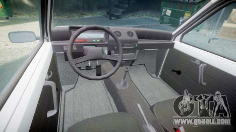 VAZ-1111 Oka for GTA 4 back view