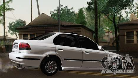 Honda Civic for GTA San Andreas left view