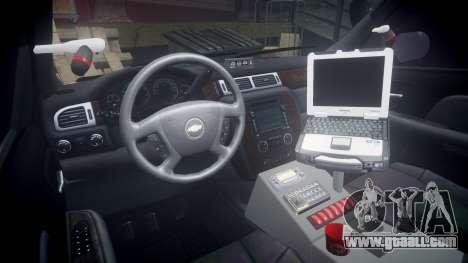 Chevrolet Suburban [ELS] Rims2 for GTA 4 back view