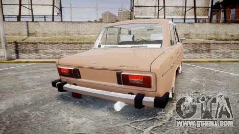 VAZ-2106 hooligan Azerbaijani style for GTA 4 back left view