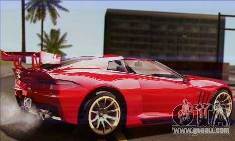 Invetero Coquette (IVF) for GTA San Andreas left view