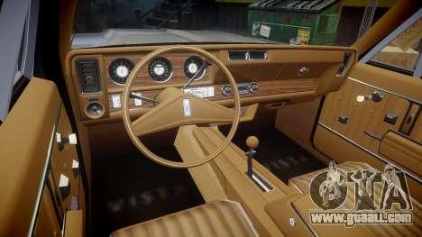 Oldsmobile Vista Cruiser 1972 Rims1 Tree4 for GTA 4 back view