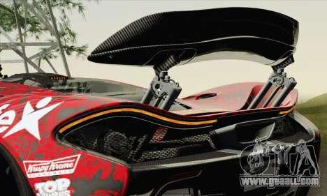 McLaren P1 HQ for GTA San Andreas wheels