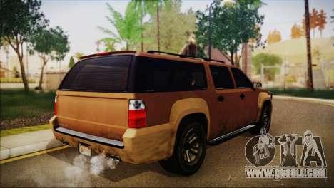 GTA 5 Granger for GTA San Andreas left view