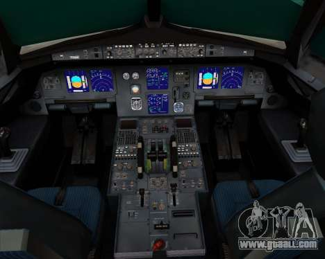 Airbus A321-200 Ural Airlines for GTA San Andreas interior