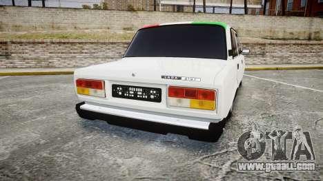 VAZ-2107 Italy for GTA 4 back left view