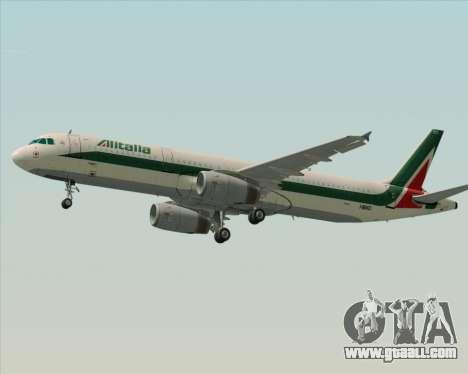 Airbus A321-200 Alitalia for GTA San Andreas engine