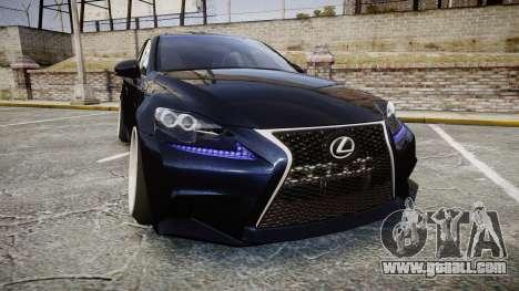 Lexus IS 350 F-Sport for GTA 4