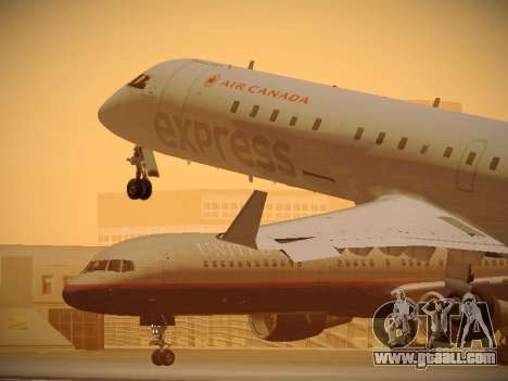 Bombardier CRJ-700 Air Canada Express for GTA San Andreas interior