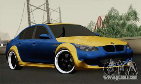 BMW M5 E60 Lumma for GTA San Andreas