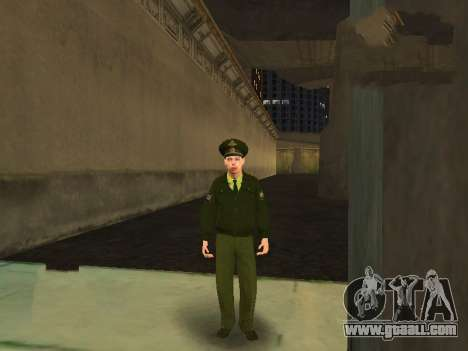 Lieutenant Sokolov for GTA San Andreas forth screenshot
