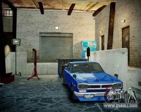 Garage with new interior Alkaline for GTA 4 sixth screenshot