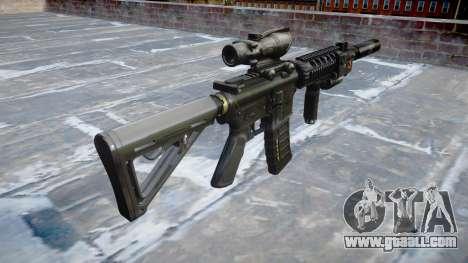 Machine Tactical M4A1 CQB for GTA 4 second screenshot