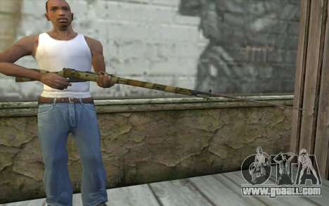 The Mosin-v16 for GTA San Andreas third screenshot